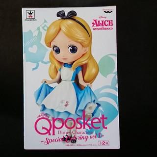 ディズニー(Disney)の入手困難な方です。 ディズニー フィギュア Qposket アリス 未開封(アニメ/ゲーム)