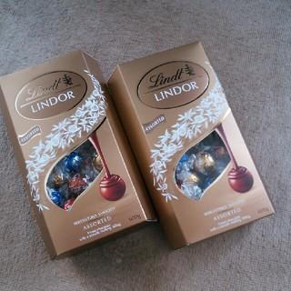 リンドールチョコレート(菓子/デザート)
