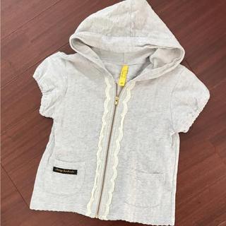 サニーランドスケープ(SunnyLandscape)の美品 120cm サニーランドスケープ 半袖 パーカー(Tシャツ/カットソー)