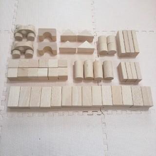 木製つみき50ピース(積み木/ブロック)