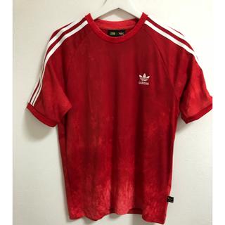 アディダス(adidas)の専用 ファレル  Tシャツタイダイ 赤 レッド M(Tシャツ/カットソー(半袖/袖なし))