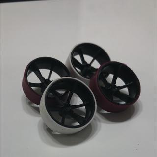 ミニ四駆 ペラタイヤ 大径ホイール(模型製作用品)