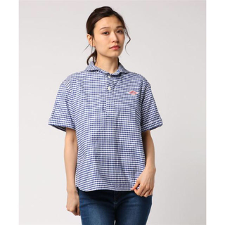 ダントン(DANTON)の半袖プルオーバーワークシャツ(シャツ/ブラウス(半袖/袖なし))