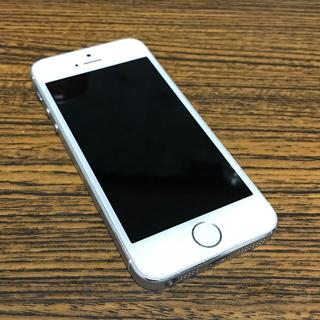 アップル(Apple)のiPhone5s シルバー docomo 32GB(スマートフォン本体)