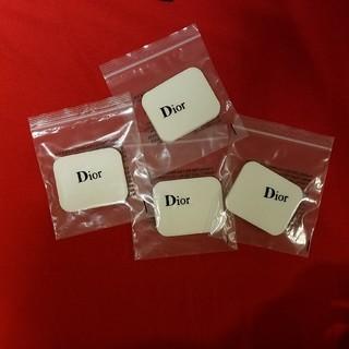ディオール(Dior)のディオール  Dior 4個 ファンデーション用 パフ  替えパフ(その他)