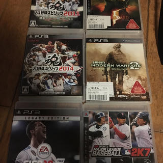 プレイステーション3(PlayStation3)のソフト(家庭用ゲームソフト)