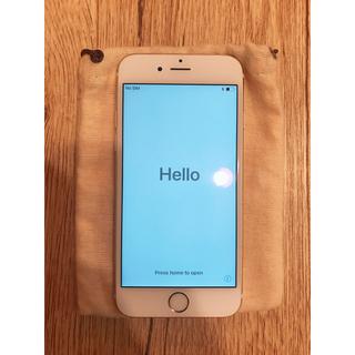アップル(Apple)のiPhone 6s Gold 64 GB au(スマートフォン本体)