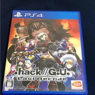 プレイステーション4(PlayStation4)の.hack gu ps4 ドットハック(家庭用ゲームソフト)