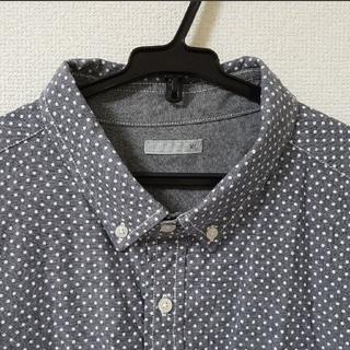 ジーユー(GU)の【XL】七分袖 シャツ(シャツ)