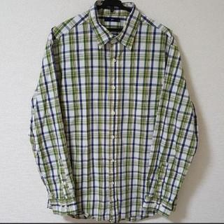 ジーユー(GU)の【XL】長袖 チェックシャツ(シャツ)