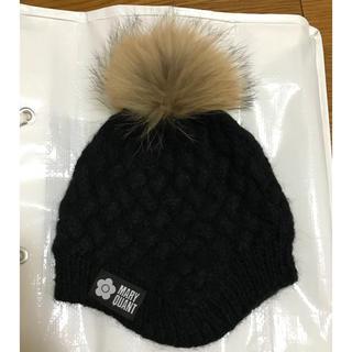 マリークワント(MARY QUANT)のニット 帽子(ニット帽/ビーニー)