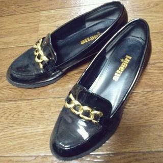 エナメル ローファー(ローファー/革靴)