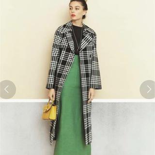 ミラオーウェン(Mila Owen)のmak様専用 ミラオーウェン  グリーン 新品 1サイズ(ロングスカート)