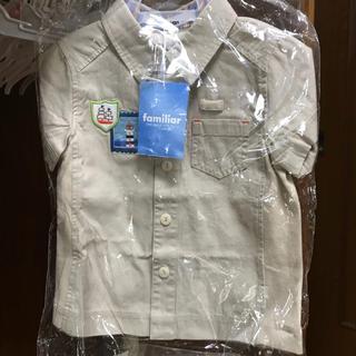 ファミリア(familiar)のファミリア 半袖 シャツ 80cm(シャツ/カットソー)
