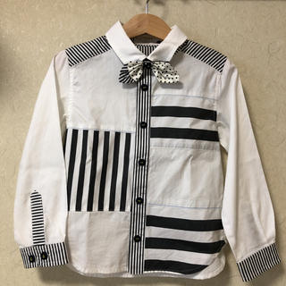 チェスティ(Chesty)のチェスティプチ 蝶ネクタイ付きシャツ 100(ドレス/フォーマル)