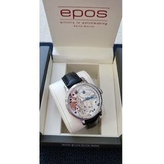 エポス(EPOS)のepos 腕時計(レザーベルト)
