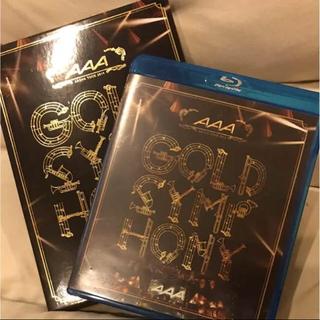トリプルエー(AAA)のAAA GOLD SYMPHONY 初回限定版(ミュージック)