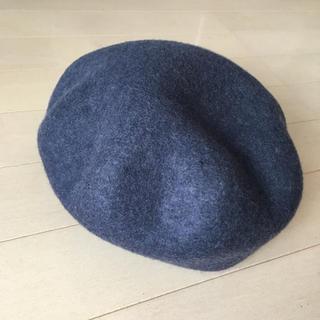 トゥモローランド(TOMORROWLAND)の美品です!bettina フエルト ベレー帽(ハンチング/ベレー帽)