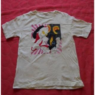 ジーユー(GU)のGU ウルトラマンプリントTシャツ (150/中古)(Tシャツ/カットソー)