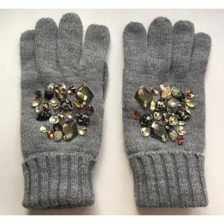 ザラ(ZARA)の【美品】手袋(グレー)(手袋)