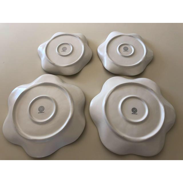 Jenggala(ジェンガラ)の専用 ジェンガラ   プレート4枚、オーバル1枚、ティーカップ2個セット インテリア/住まい/日用品のキッチン/食器(食器)の商品写真