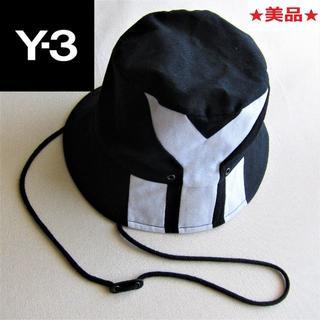 ワイスリー(Y-3)の★美品★Y-3◇キャンプハット◇ブラック (ハット)