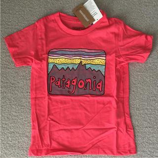 パタゴニア(patagonia)の新品★パタゴニア キッズ Tシャツ 4T 2018ssカラー(Tシャツ/カットソー)