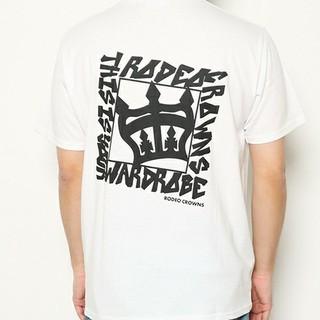 ロデオクラウンズワイドボウル(RODEO CROWNS WIDE BOWL)の新品✩RODEO CROWNS✩RCWB✩メンズストリートクラウンTシャツ(Tシャツ/カットソー(半袖/袖なし))