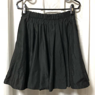 ダブルネーム(DOUBLE NAME)のDOUBLE NAME スカート フリーサイズ ブラック(ひざ丈スカート)