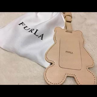 フルラ(Furla)の新品未使用 フルラ クマ キーホルダー タグ(キーホルダー)