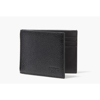 ジャックスペード(JACK SPADE)のpebbled leather slim billfold(折り財布)