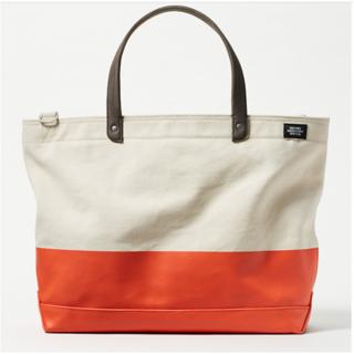 ジャックスペード(JACK SPADE)の日本完売 dipped industrial canvas coal bag(トートバッグ)