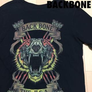 バックボーン(BACKBONE)の#3658 BACKBONE バックボーン タイガー プリント Tシャツ(Tシャツ/カットソー(半袖/袖なし))