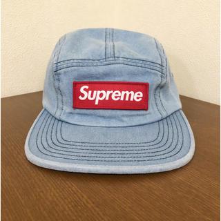 シュプリーム(Supreme)のwashed chino twill camp cap(キャップ)