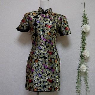 チャイナドレス ハロウィン  ワンピース パーティー 衣装 コスプレ 仮装(衣装)