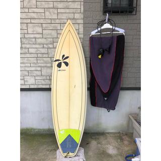 ディックブリューワー(Dick Brewer)のサーフボード ディックブリューワー(リーシュ、ケース付き)(サーフィン)