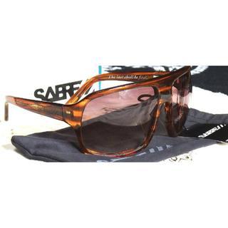 セイバー(SABRE)の新品 SABRE × 3Sixteen コラボサングラス ブラウン セイバー(サングラス/メガネ)