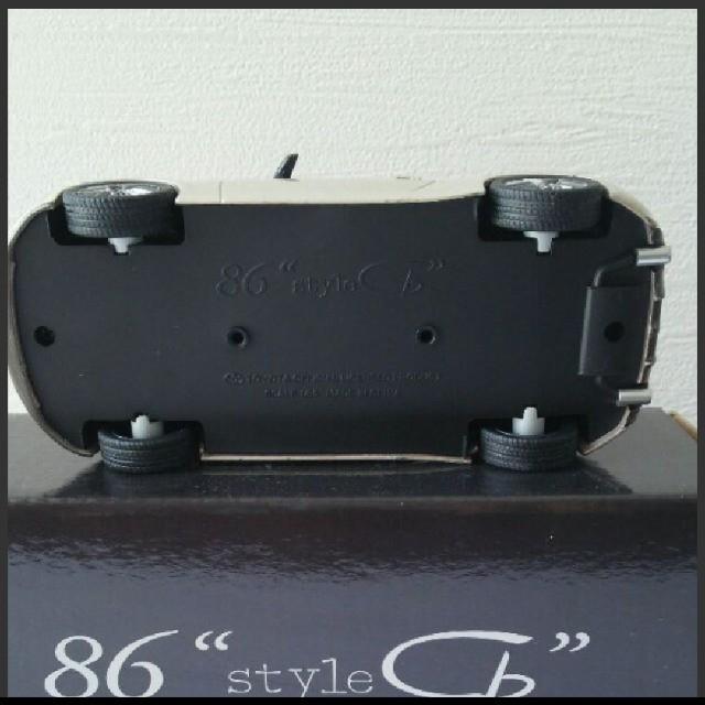カラーサンプル ハチロク TOYOTA エンタメ/ホビーのおもちゃ/ぬいぐるみ(ミニカー)の商品写真