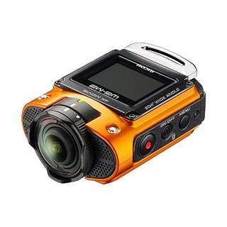 リコー(RICOH)のWG-M2 タフ×ハイスペックアクションカメラ/専用ケース/予備バッテリー/SD(コンパクトデジタルカメラ)
