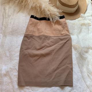 アレッサンドロデラクア(Alessandro Dell'Acqua)のN21 ヌメロ デザイナー スカート コルセット風(ひざ丈スカート)