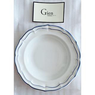サラグレース(Sarah Grace)の*新品未使用* サラグレース Gien パスタプレート ブルー 23cm(食器)