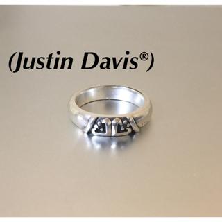 ジャスティンデイビス(Justin Davis)のJustin Davisジャスティンデイビス ハートオニキス925シルバーリング(リング(指輪))