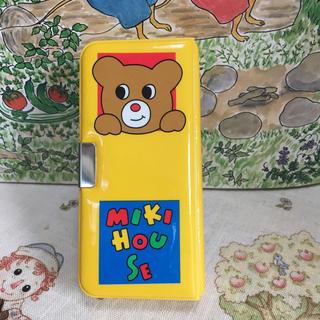 ミキハウス(mikihouse)のミキハウス ミニ色鉛筆  両面筆箱型ケース入り(色鉛筆 )