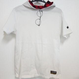ズーヨーク(ZOO YORK)のフード付きTシャツ  ZOO YORK ズーヨーク Mサイズ(Tシャツ/カットソー(半袖/袖なし))