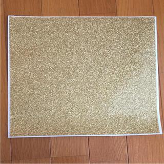 アートグリッターラベル ゴールド(型紙/パターン)