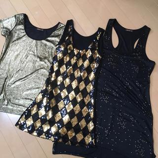 goldダンス衣装3点set