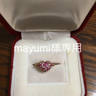 ポンテヴェキオ(PonteVecchio)のmayumi様専用 ポンテヴェキオ ハートリング(リング(指輪))