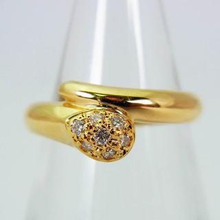 スタージュエリー(STAR JEWELRY)のスタージュエリー K18 ダイヤモンド ピンキーリング 2号 [f225-9](リング(指輪))