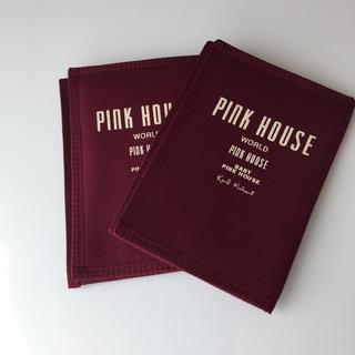 ピンクハウス(PINK HOUSE)のピンクハウス  パスポートケース 通帳 2個セット(その他)