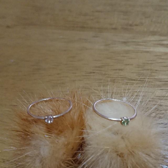 K10  YG マット加工リング レディースのアクセサリー(リング(指輪))の商品写真